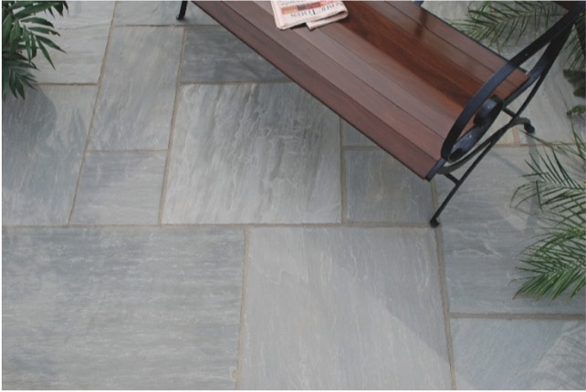 sandstone paving grey